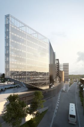 5+1AA, Nuova sede Gruppo Bnl - Bnp Paribas Real Estate, Roma - Vista Est