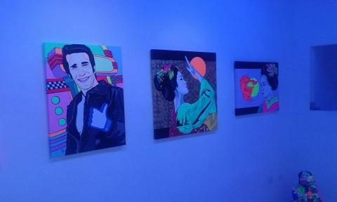 Andy alla Gestalt Gallery - Pietrasanta