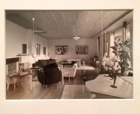 Armin Linke, Maison Louis Carré, 2014, Bazoches-sur-Guyonne, Francia (1956-'59), fotografia
