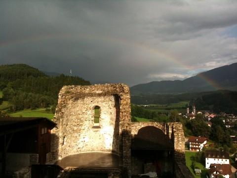 Castelbadia - Abside e cripta del monastero