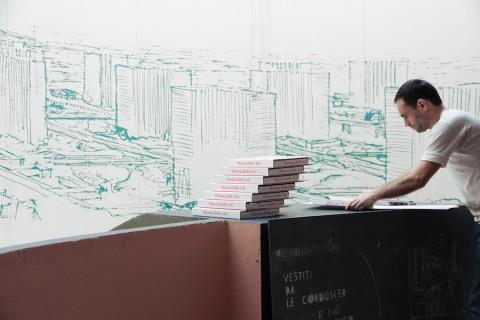 Cristian Chironi, My House Is a Le Corbusier (Esprit Nouveau, Bologna 2015) - photo Luca Ghedini