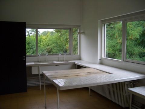 Cucina di Villa Savoie di Le Corbusier, 1928