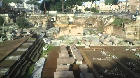 Foro della Pace di Roma prima dell'anastilosi