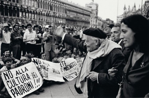 Giuseppe Ungaretti, Biennale di Venezia, 26 agosto 1968