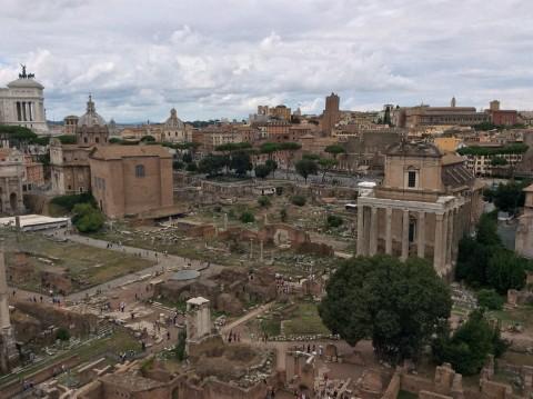 I Fori romani, Roma