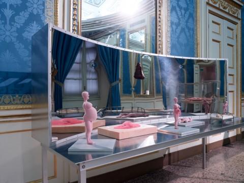 La Grande Madre (Bourgeois) - veduta della mostra presso Palazzo Reale, Milano 2015 - photo Marco De Scalzi - Courtesy Fondazione Nicola Trussardi, Milano
