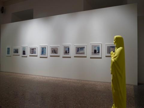La Grande Madre (Harrison, Fritsch) - veduta della mostra presso Palazzo Reale, Milano 2015 - photo Marco De Scalzi - Courtesy Fondazione Nicola Trussardi, Milano