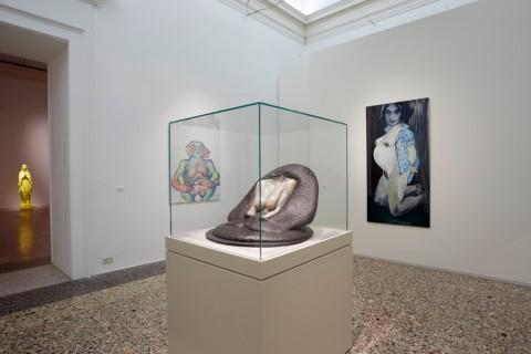 La Grande Madre (Szapocznikow, Lassnig, Dumas) - veduta della mostra presso Palazzo Reale, Milano 2015 - photo Marco De Scalzi - Courtesy Fondazione Nicola Trussardi, Milano