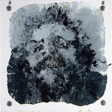 Li Songsong, Che, 2010 - olio su vetro - courtesy l'artista e Pace Gallery, Beijing - © Li Songsong - Yan Ronghui