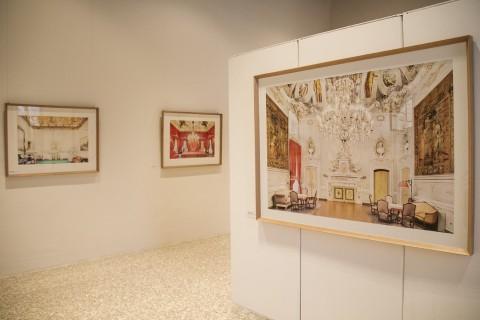 Massimo Siragusa - Spazi Condivisi – veduta della mostra presso Palazzo Tadea, Spilinbergo 2015 - photo © Terry Peterle