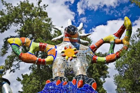 Niki de Saint Phalle, Giardino dei Tarocchi, Garavicchio