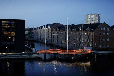 Olafur Eliasson, Cirkelbroen, 2015 - Copenaghen - Photo Søren Svendsen, for Nordea-fonden