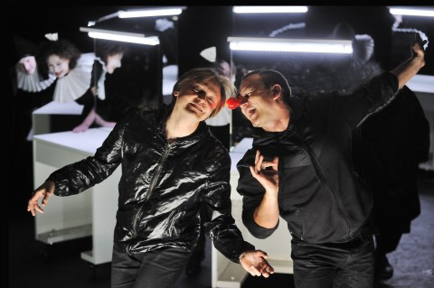 Oskaras Korsunovas, Hamlet - photo Dmitrijus Matvejevas