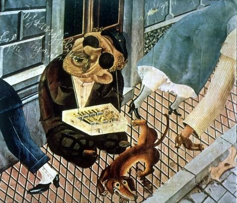 Otto Dix, The Match Seller,1920