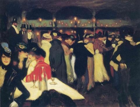 Pablo Picasso, Le Moulin de la Galette, 1900