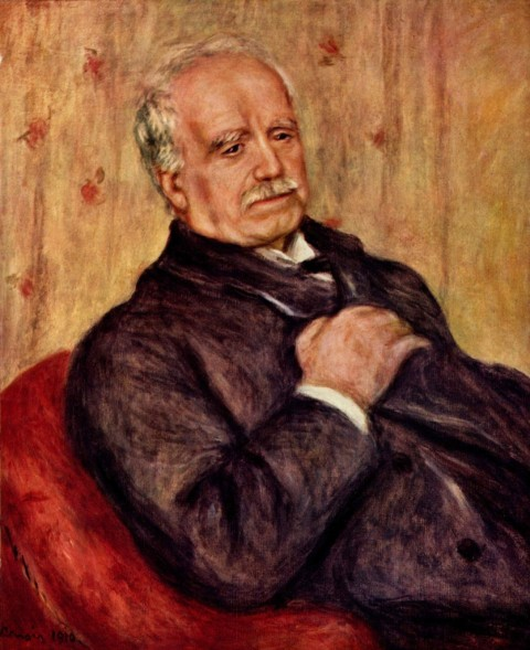Paul Durand-Ruel ritratto da Renoir nel 1910