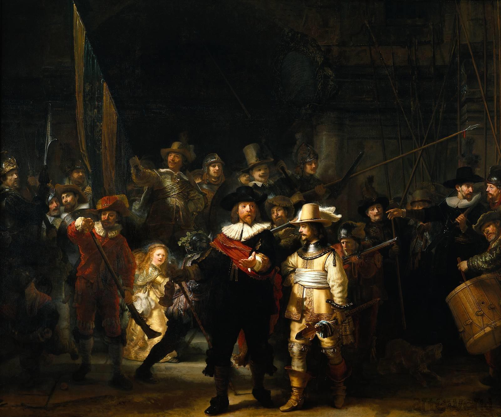 Cosa rende La Ronda di Notte di Rembrandt un capolavoro?