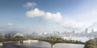 Thomas Heatherwick, Garden Bridge, 2012, Courtesy of Heatherwick Studio