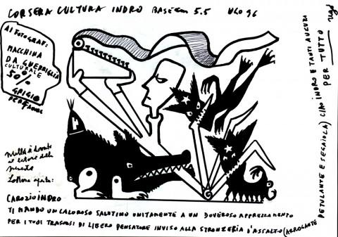 Ugo Guarino, La stanza di Montanelli, 1996
