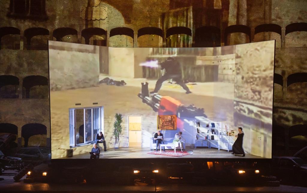 Wolfgang Rihm, Die Eronberung von Mexico - Festival di Salisburgo 2015 - © Salzburger Festspiele - Monika Rittershaus
