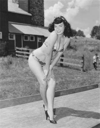 ©Arnold Kovacs, Bettie Page, 1954 ca., Courtesy of Micheal Fornitz Collection