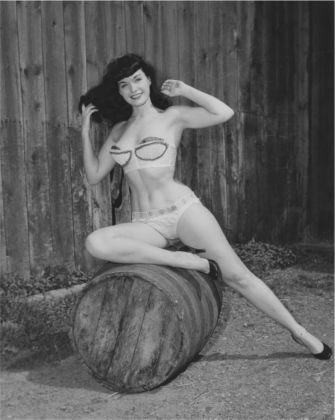 © Arnold Kovacs, Bettie Page, 1954 ca., Courtesy of Michael Fornitz Collection