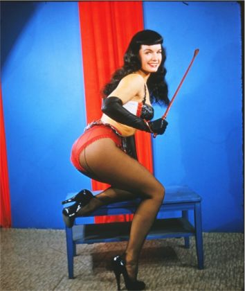 © Paula and Irving Klaw, Bettie Page, 1954-1955, Courtesy of Michael Fornitz Collection