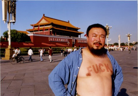 Ai Weiwei, Pechino, 2009 - ph. via phaidon.com