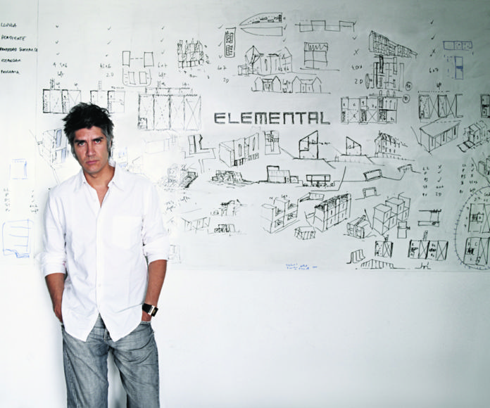 Alejandro Aravena - photo Cristobal Palma