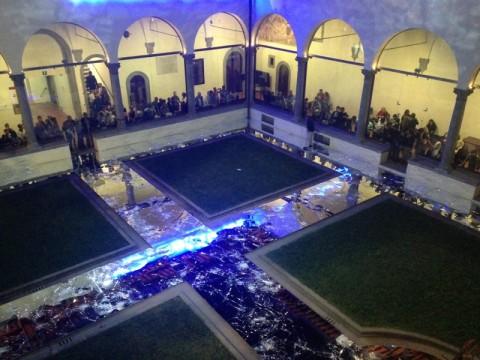 Alfredo Pirri & Alvin Curran, Passi 2015. Museo Novecento, Firenze. Foto Valentina Grandini