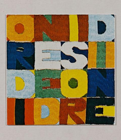 Alighiero e Boetti, Ordine e Disordine, 1966-75