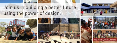 Architecture for Humanity- slogan