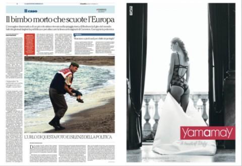 Aylan Kurdi e Yamamay