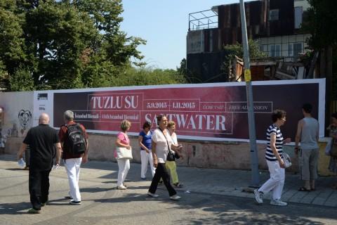 Biennale di Istanbul - la grafica di Leftloft