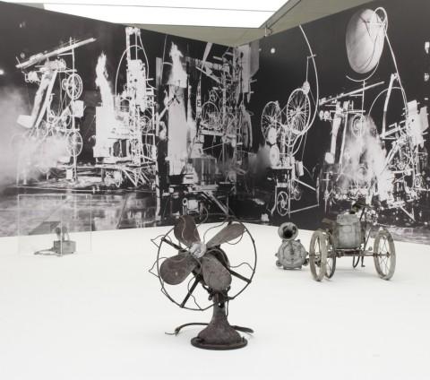 E.A.T. – Experiments in Art and Technology - veduta della mostra presso il Museum der Moderne, Salisburgo 2015