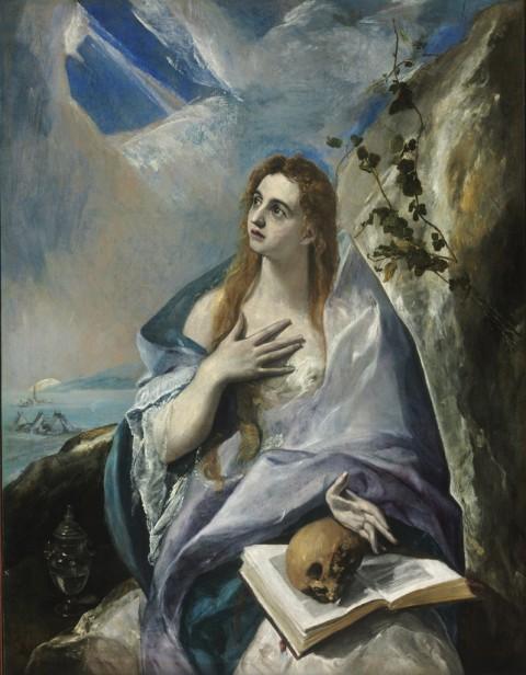 El Greco, Maddalena penitente, 1576 ca. - ©Museum of Fine Arts, Budapest 2015