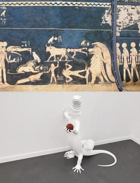 Fenotipi adattati – Sarcofago dalla Tomba di Seti I; Pietro Roccasalva