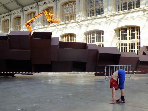 Follia Continua - veduta della mostra presso Centquatre, Parigi 2015 - photo Silvia Neri