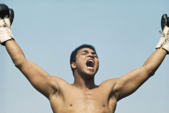 Muhammad Ali (Cassius Clay, all'anagrafe) nel 1972 (Photo by Getty Images)