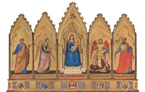 Giotto, Polittico di Bologna, 1332-34 ca. - dalla Rocca di Galliera (Bologna), Bologna, Pinacoteca Nazionale