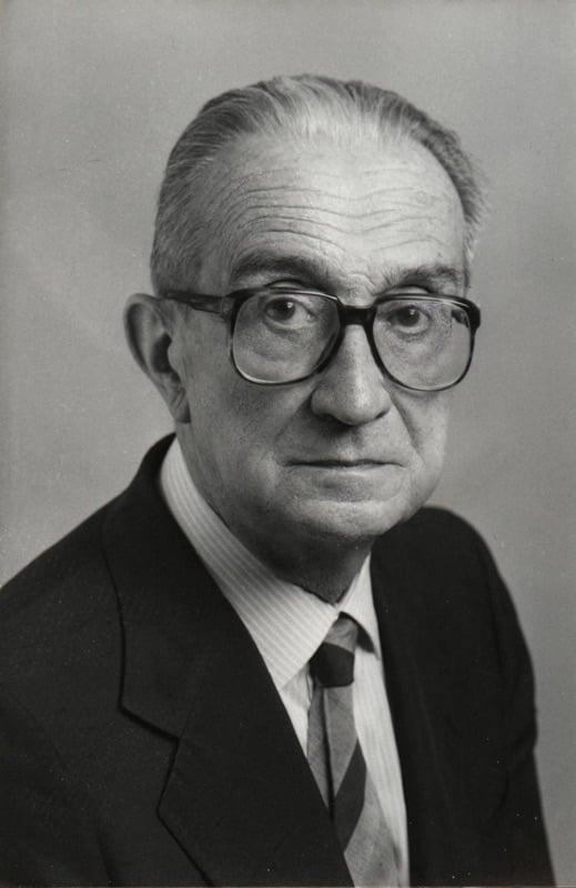Giulio Carlo Argan negli anni '80