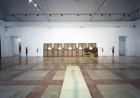 Giulio Paolini, Mnemosine (Les Charmes de la Vie 9), 1981-88 - photo Gonnella, 2001 - GAM, Torino - © Giulio Paolini