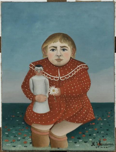 Henri Rousseau, Bambina con Bambola, 1904