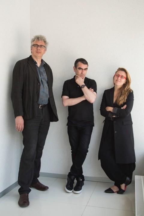 I curatori della 6. Biennale di Mosca - Bart De Baere, Defne Ayas e Nicolaus Schafhausen