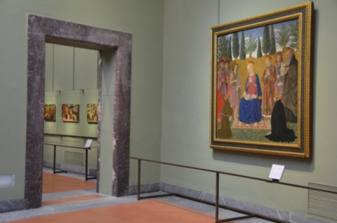 Il riallestimento delle otto sale degli Uffizi, finanziato da Salvatore Ferragamo