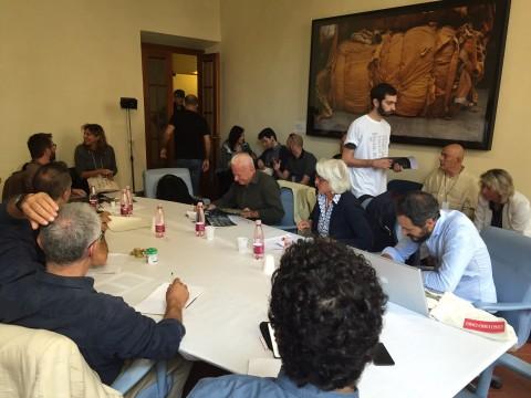 Il tavolo su cultura e politica, a Prato