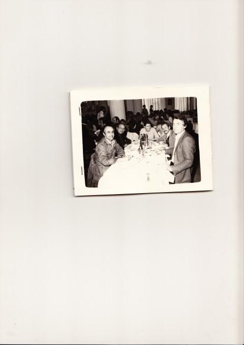 Jean-Christophe Ammann, Filiberto Menna, Laura Cherubini, Achille Bonito Oliva, Nino Dardi - Venezia, 1978