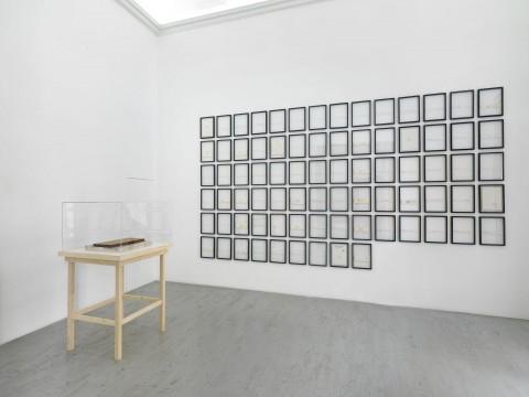 Joseph Beuys - veduta della mostra, Galleria Alfonso Artiaco, Napoli 2015