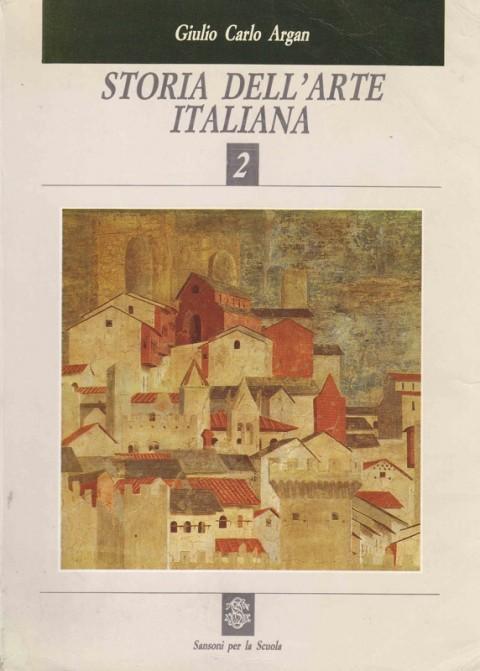 La Storia dell'Arte italiana di Argan