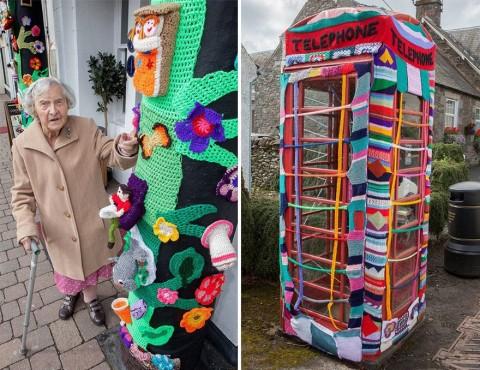 Le installazioni urbane delle artiste di Souters Stomers, Scozia